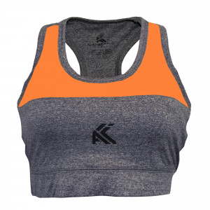 Women's Sports Bra(Orange)