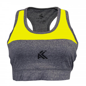 Women's Sports Bra(yellow)