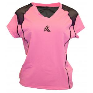 Women's Mesh T shirt(Light Pink)