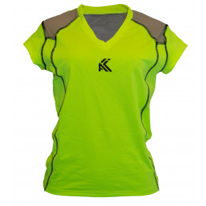 Women's Mesh T shirt(Light Green)
