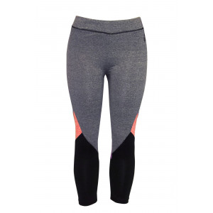 Women's Trichrome Tights (Grey)