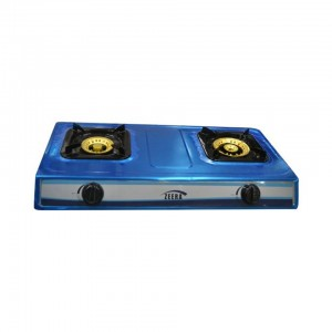 ZEERA GAS STOVE - 2 PLATE STAINLESS STEEL - MS7G2A