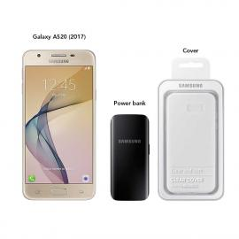 Samsung Galaxy A520 (2017) 32 GB (Gold) With Powerbank & Cover