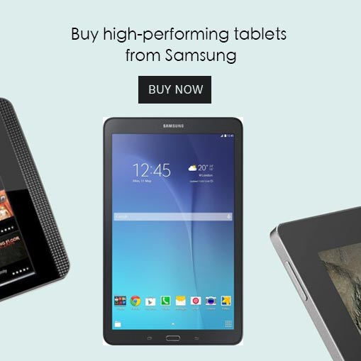 Tablets Home slider
