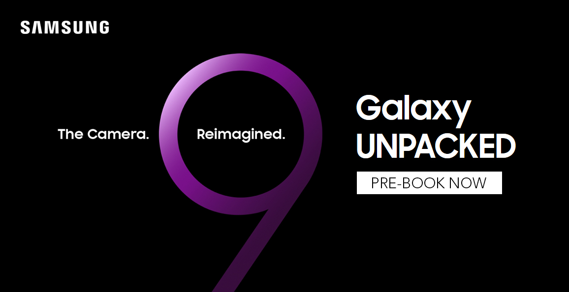 Samsung Galaxy S9 Pre booking