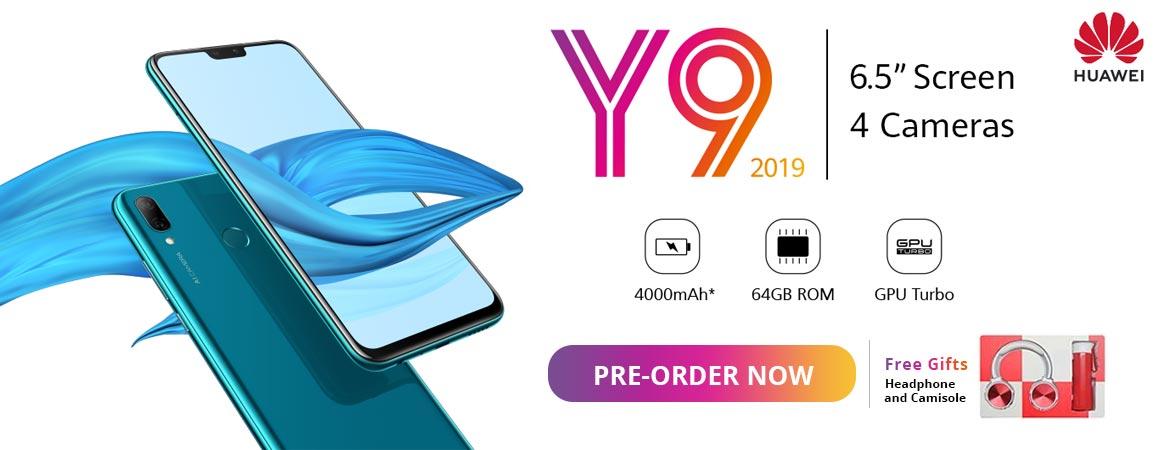 Huawei Y9 Pre booking